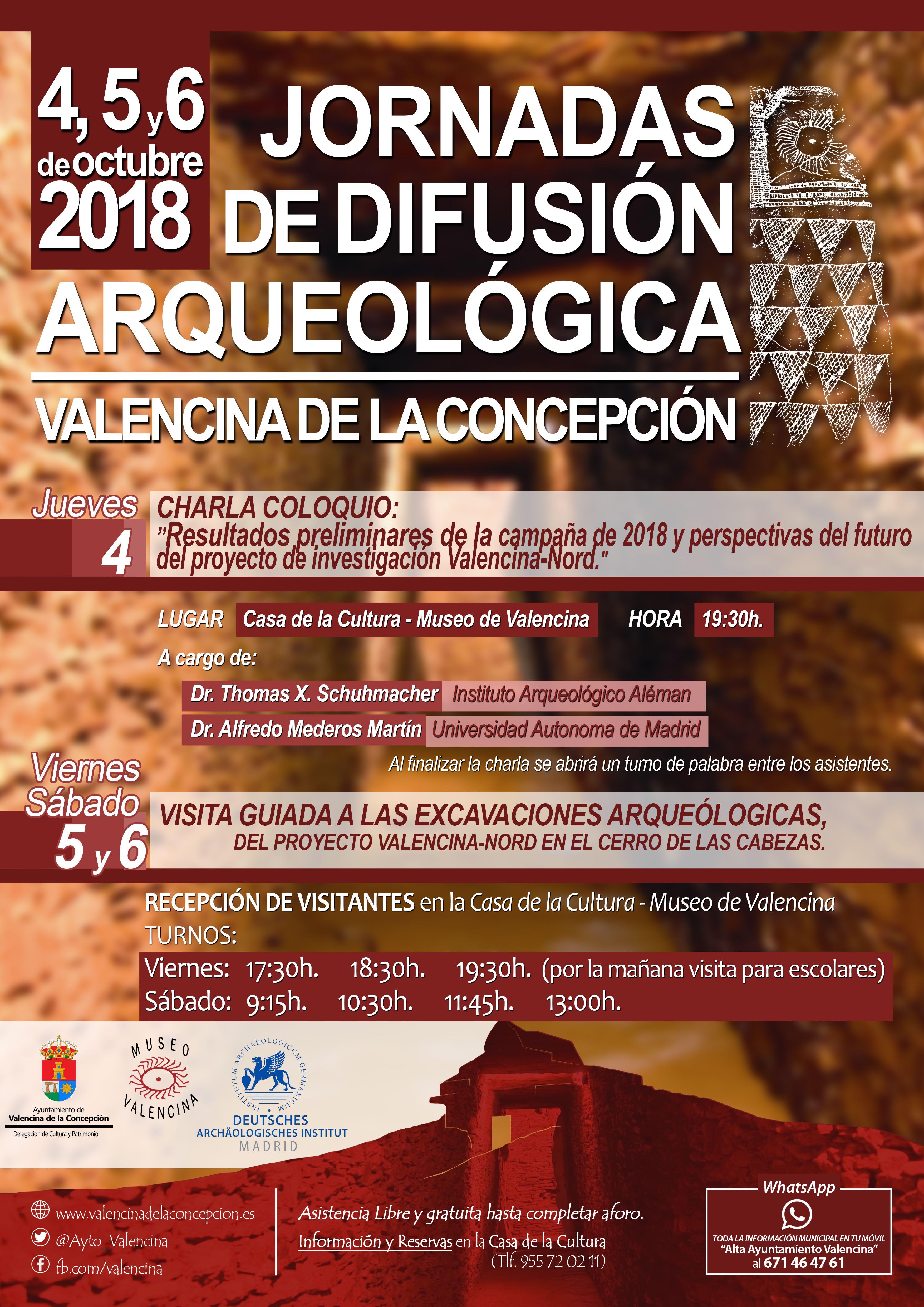 Una nueva edición de las Jornadas de Difusión Arqueológica expondrá los resultados preliminares 2018 del proyecto Valencina-Nord