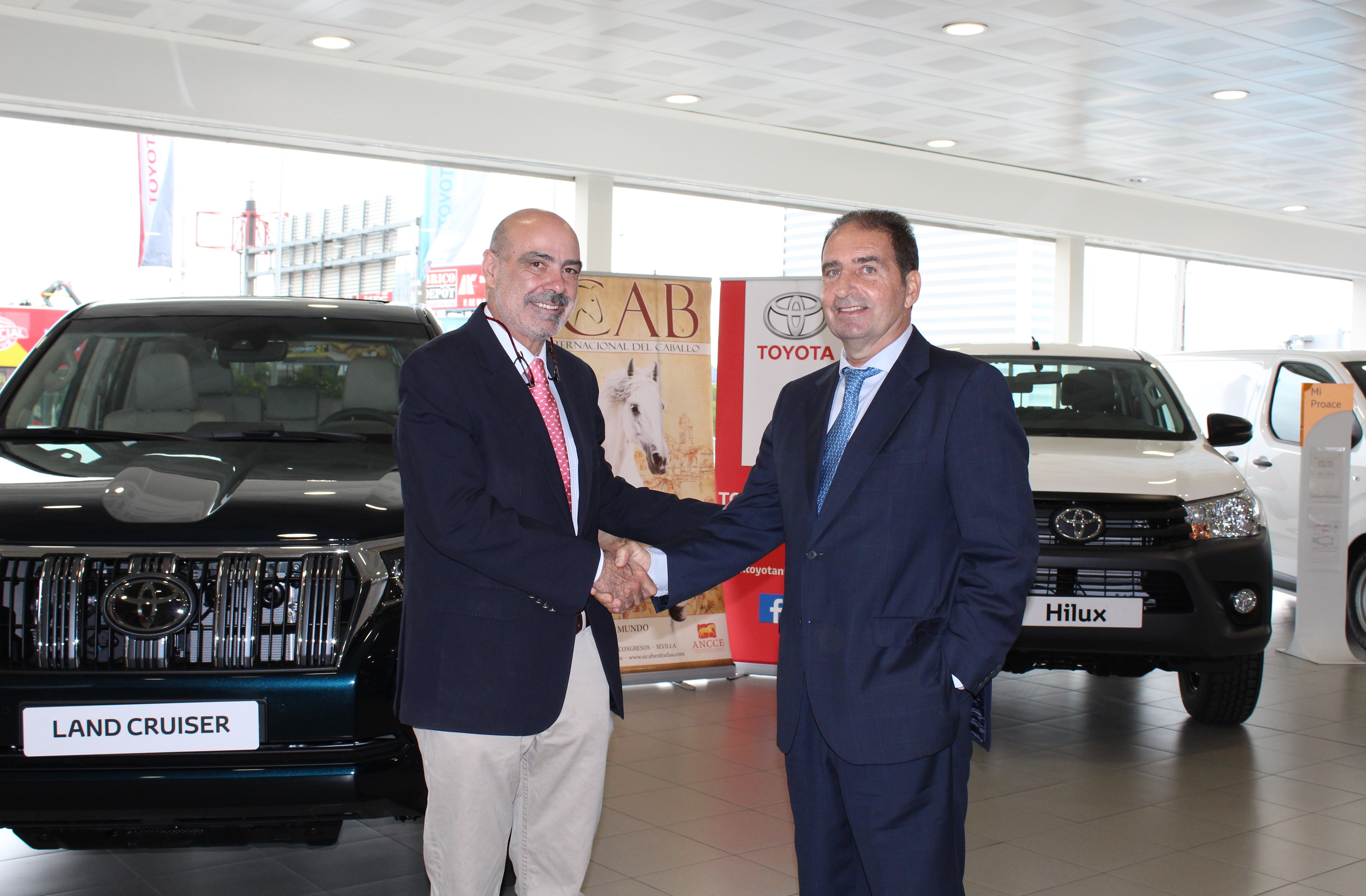 Toyota Nimo Gordillo se consolida como patrocinador oficial de SICAB
