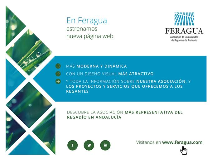 FERAGUA estrena nueva página web - ¡Visítanos!