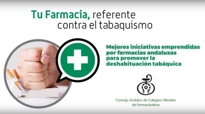 El Consejo Andaluz de Farmacéuticos reconoce la mejor iniciativa contra el tabaquismo de las farmacias de Andalucía