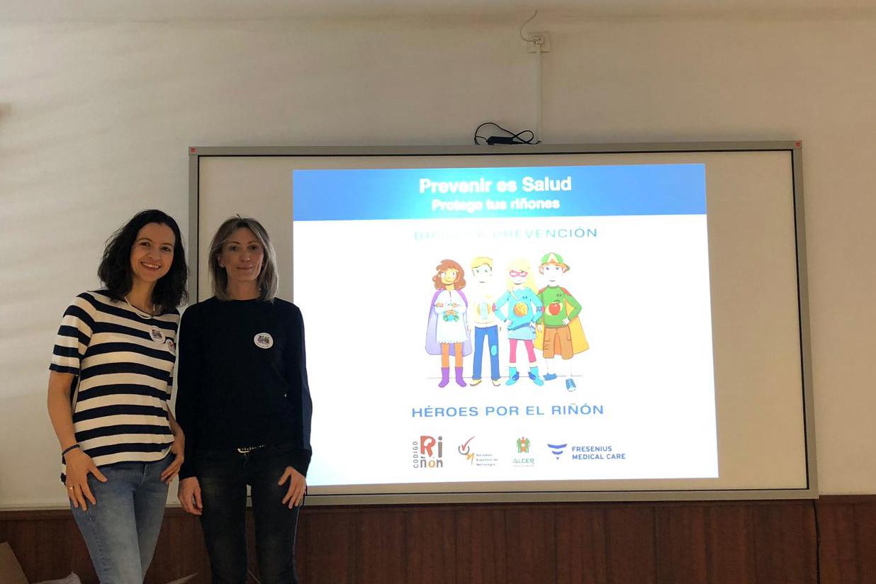 Más de 150 escolares almerienses se educan en la importancia del cuidado de los riñones y la promoción de la salud renal