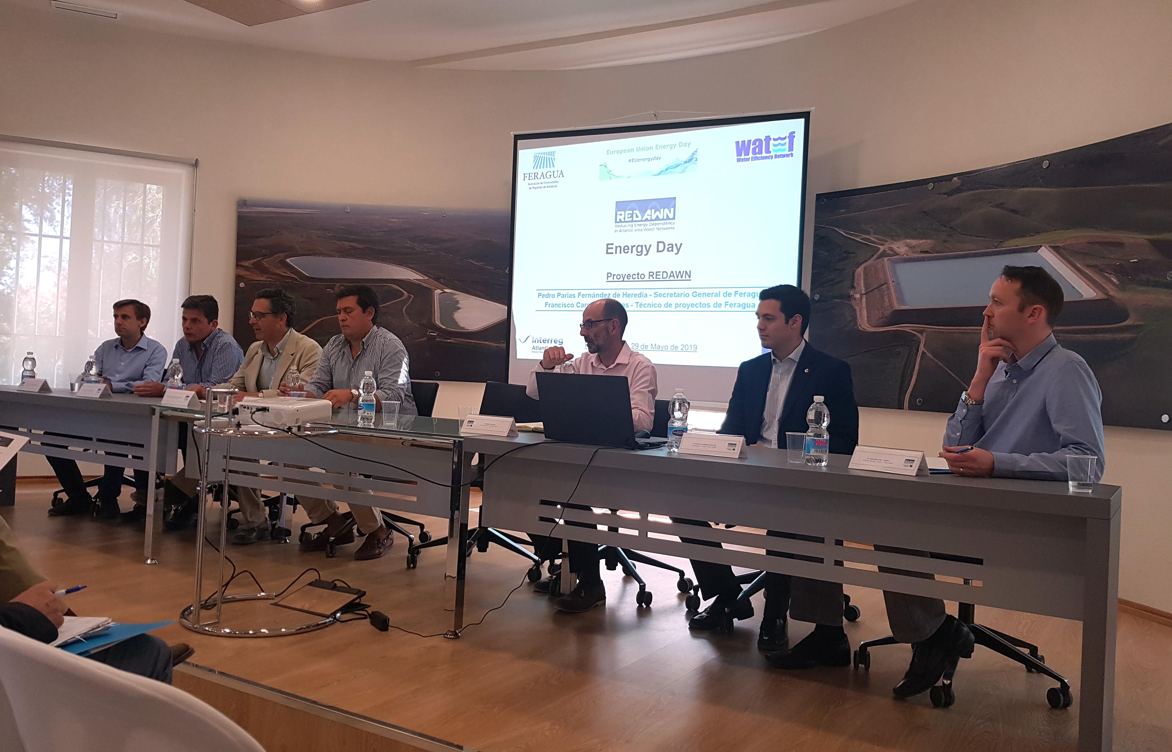 Puesta de largo de la planta piloto en España de REDAWN en Palma del Río, proyecto europeo para mejorar la eficiencia energética de distribución de agua en redes mediante el uso de microturbinas