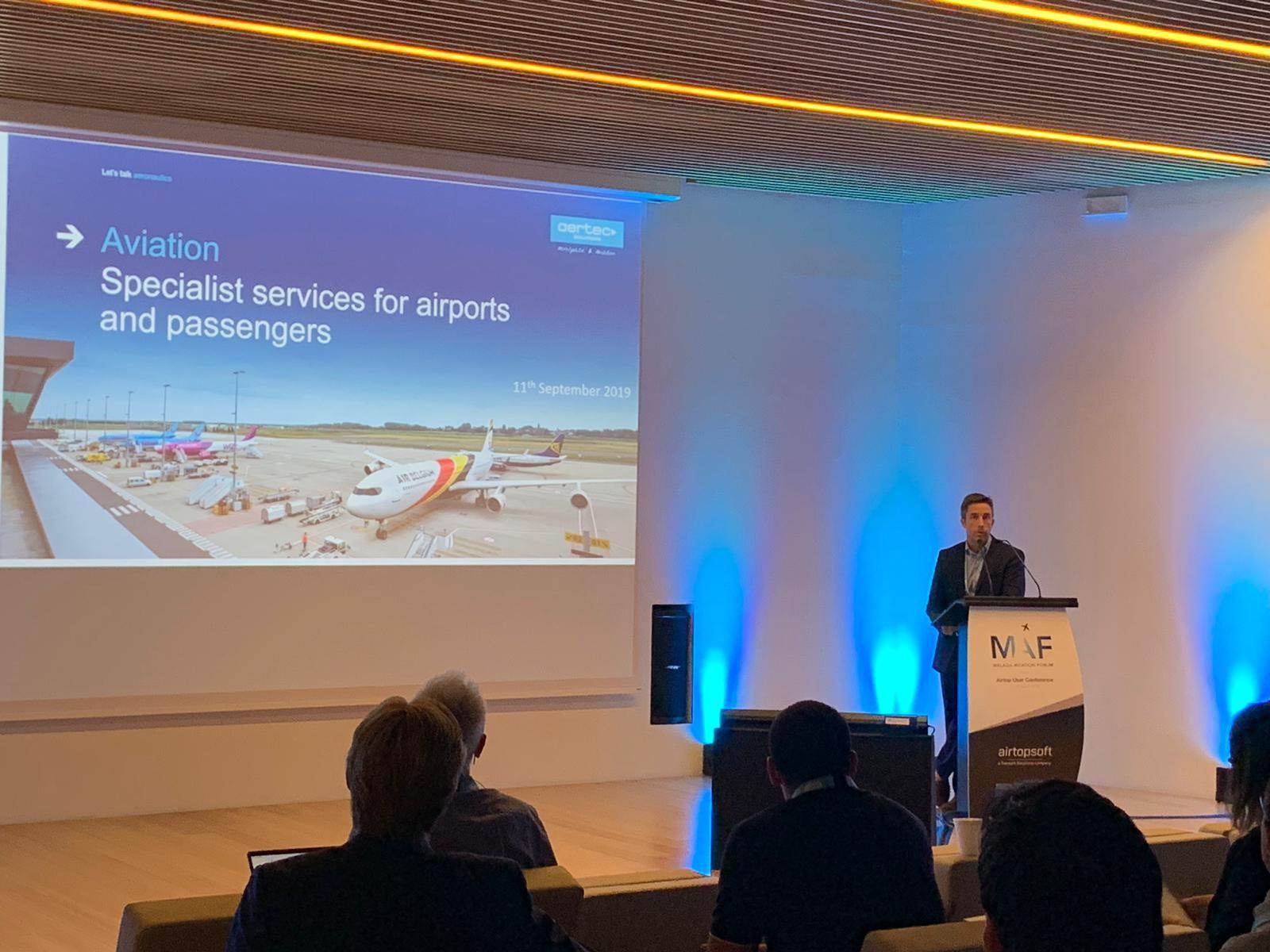 COMUNICADO DE PRENSA: El MAF-Malaga Aviation Forum, organizado por AERTEC Solutions, aborda desde hoy la simulación aeroportuaria
