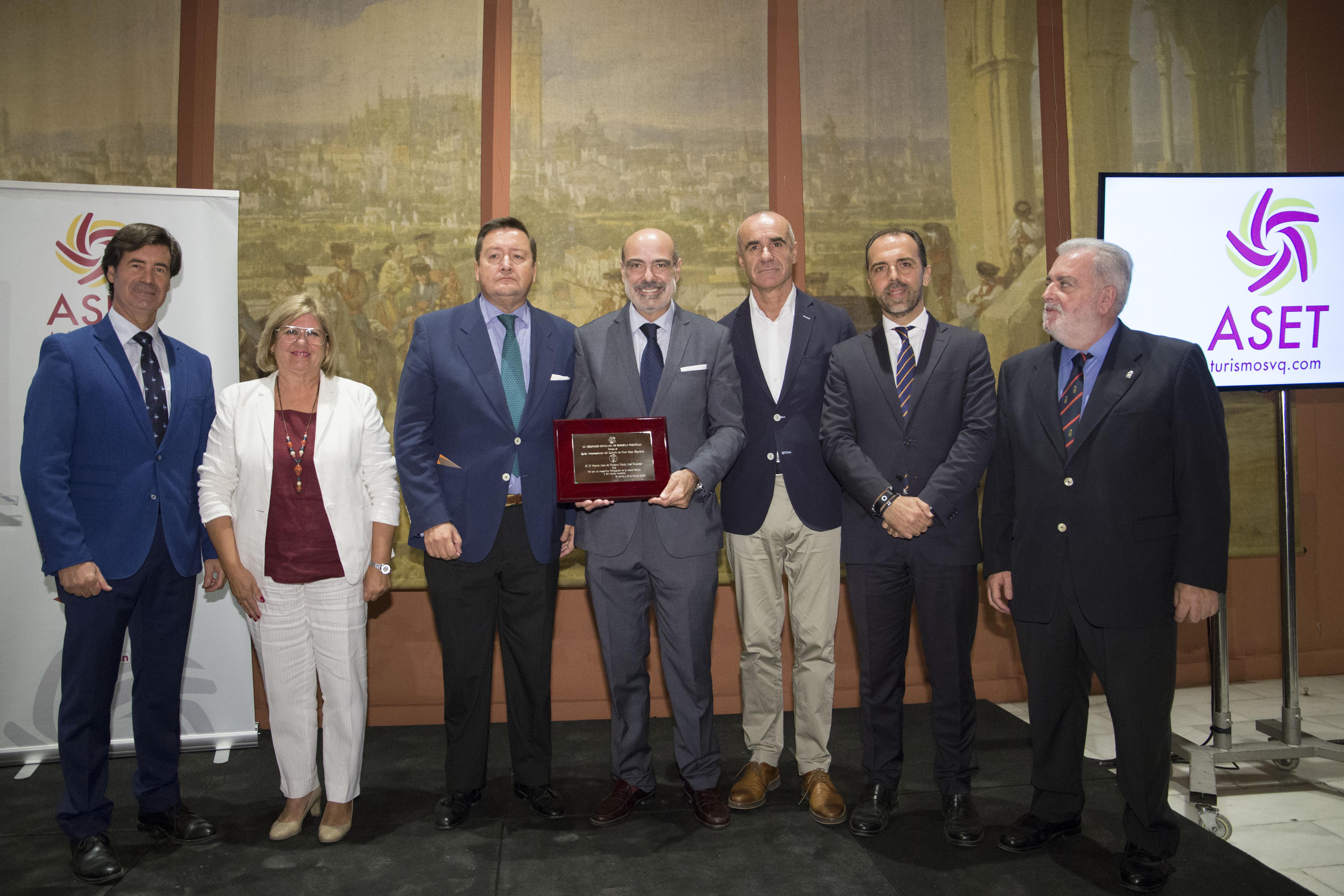 SICAB recibe el reconocimiento del sector turístico de Sevilla con el XI Premio ASET de Turismo Mª José Uruñuela