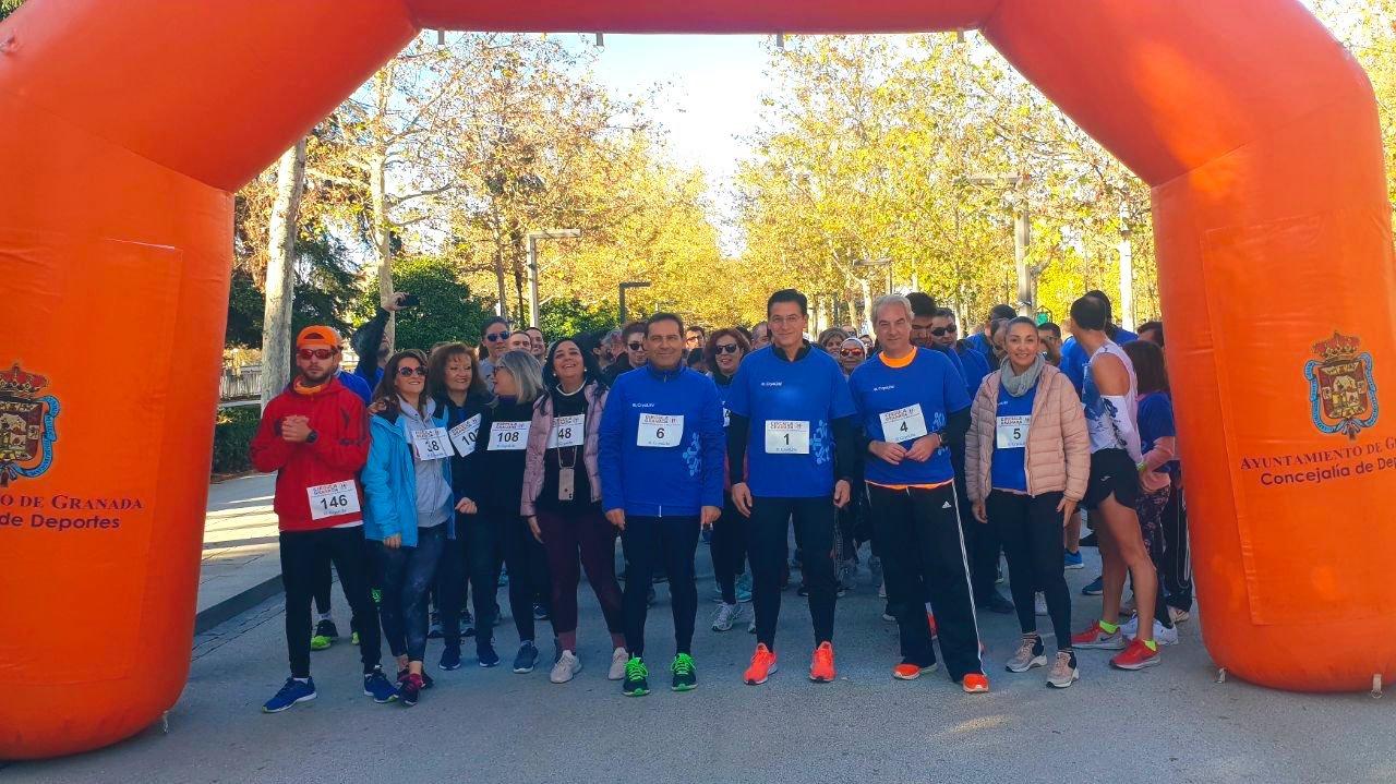 """Más de 150 granadinos participan en la I Marcha por la Salud Vascular """"Circula Granada"""", para fomentar la vida saludable y prevenir las enfermedades vasculares"""