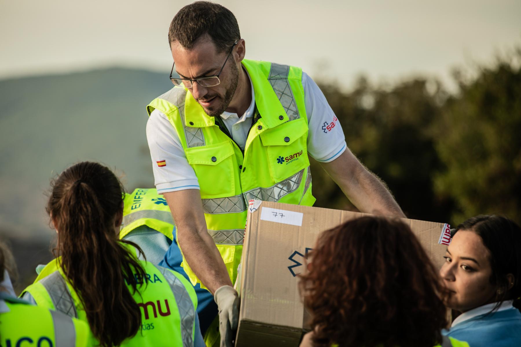 NOTA DE PRENSA: SAMU LLEVARÁ ROPA DE ABRIGO A LA POBLACIÓN DE LA REGIÓN DEL GRAN ATLAS (MARRUECOS)