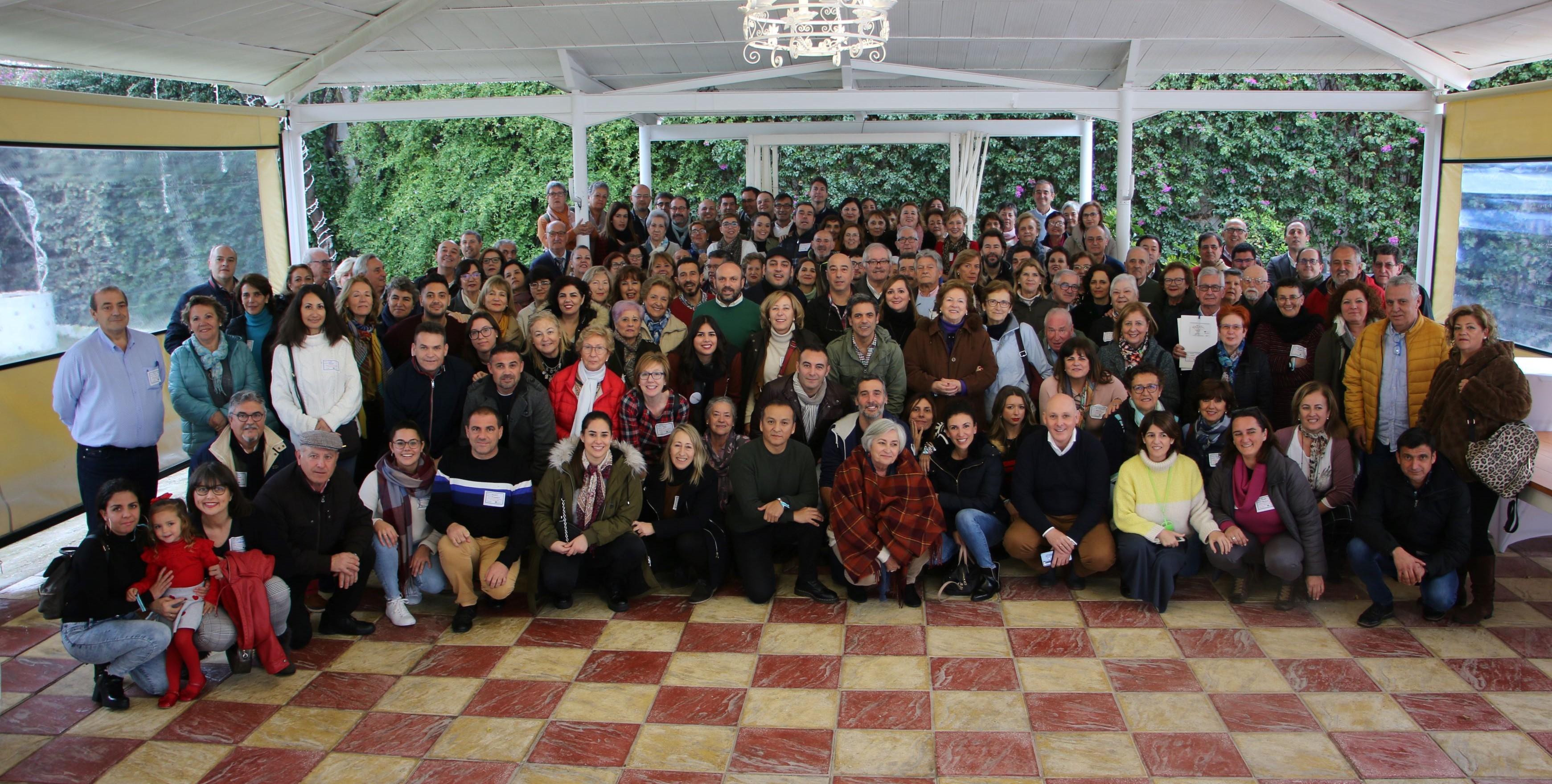Casi 200 voluntarios de toda Andalucía se reúnen en un encuentro para poner en valor su papel en la atención a personas con problemas de adicciones