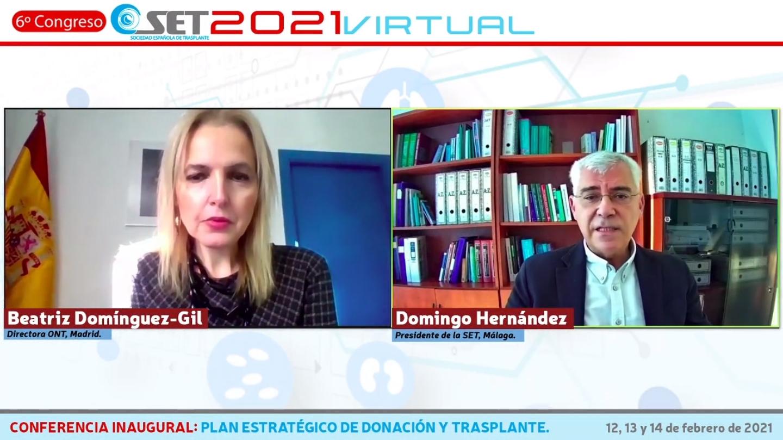 Los especialistas en trasplante esperan que la actividad de trasplante en España vuelva a los niveles anteriores a la pandemia a finales de este año