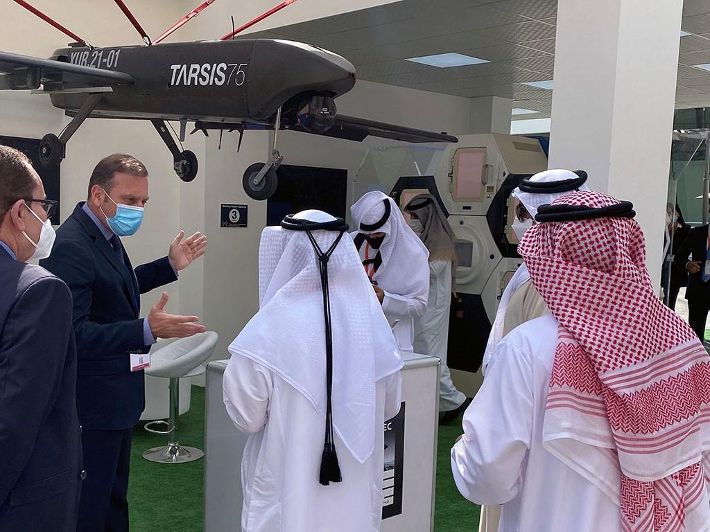 NOTA DE PRENSA: AERTEC retoma su presencia internacional en ferias y presenta en Abu Dhabi sus soluciones UAS Tarsis