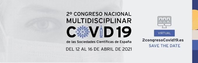 78 sociedades científicas nacionales impulsan el segundo congreso monográfico sobre COVID-19, que organiza la Sociedad Española de Neumología y Cirugía Torácica (SEPAR)