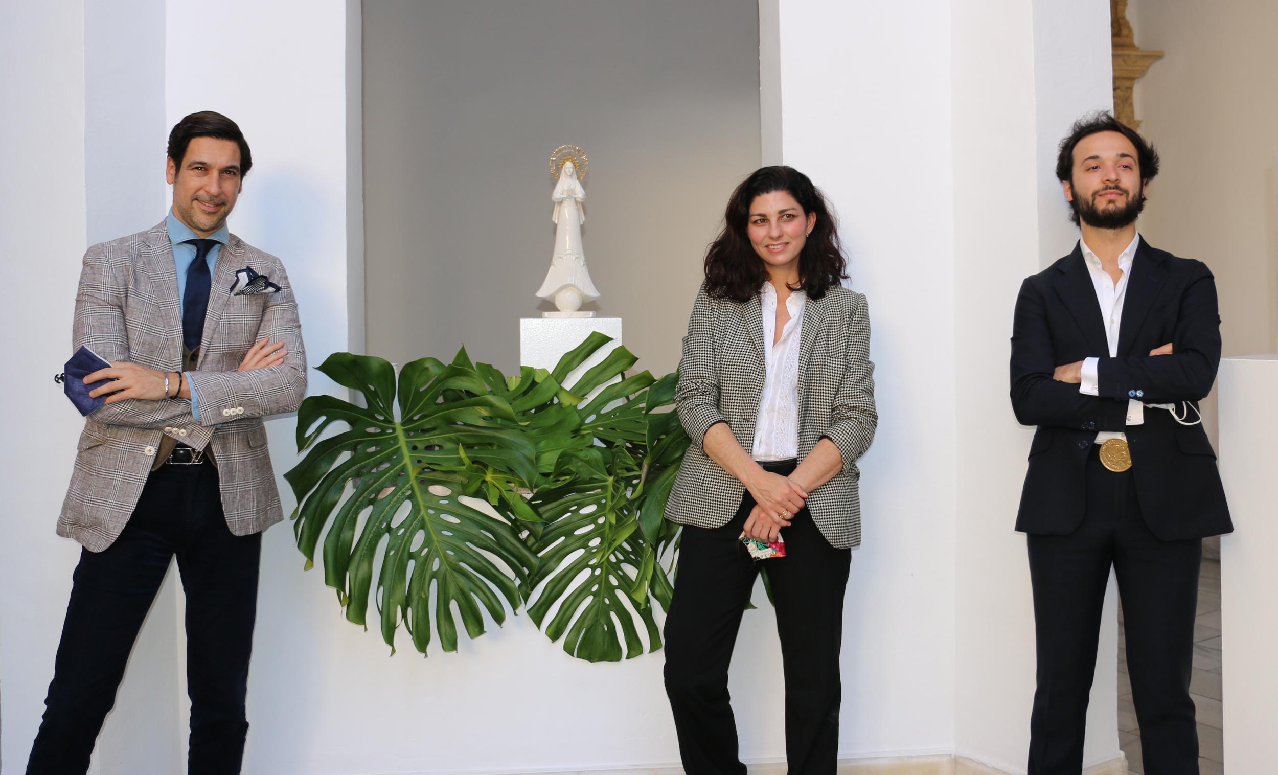 """El diseñador y emprendedor sevillano Manuel Zerpa crea una imagen de la Virgen de """"La Protezione"""" y destinará parte de sus ventas a beneficio de Nuevo Futuro Sevilla"""