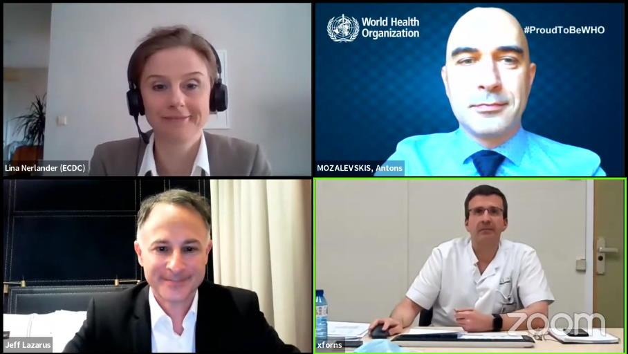 Expertos internacionales piden coordinar y sumar esfuerzos frente a la COVID-19 y la hepatitis C (VHC)