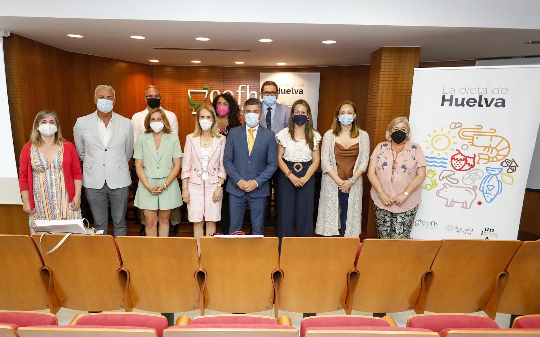 Nace 'La dieta de Huelva', iniciativa pionera para promover una nutrición saludable basada en alimentos onubenses