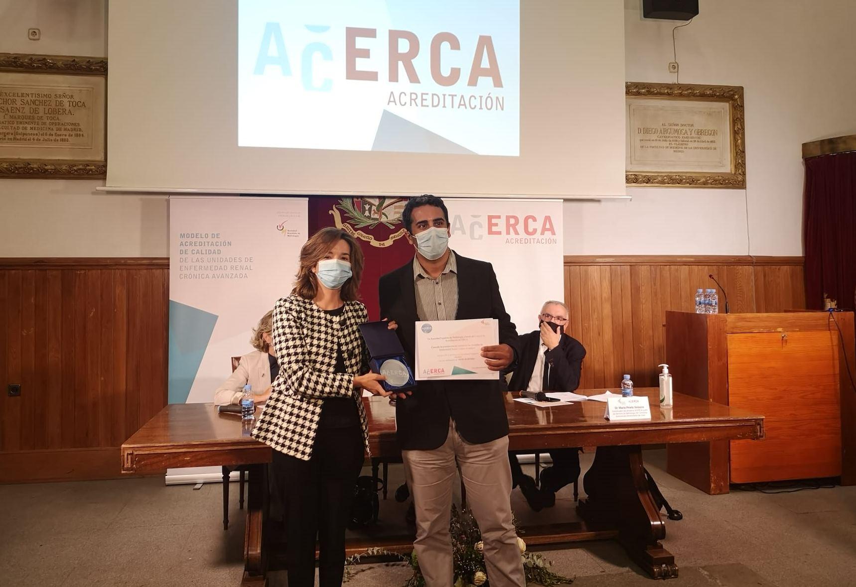 El Hospital Gregorio Marañón de Madrid, reconocido a nivel nacional por la excelencia y calidad en su atención a las personas con enfermedad renal