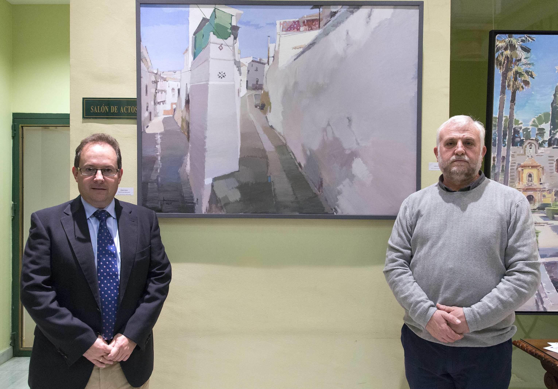 Para sección de Agenda: La sede del Colegio de Farmacéuticos de Sevilla se convierte hasta el 28 de noviembre en una pinacoteca especializada en paisajes y escenas de Andalucía