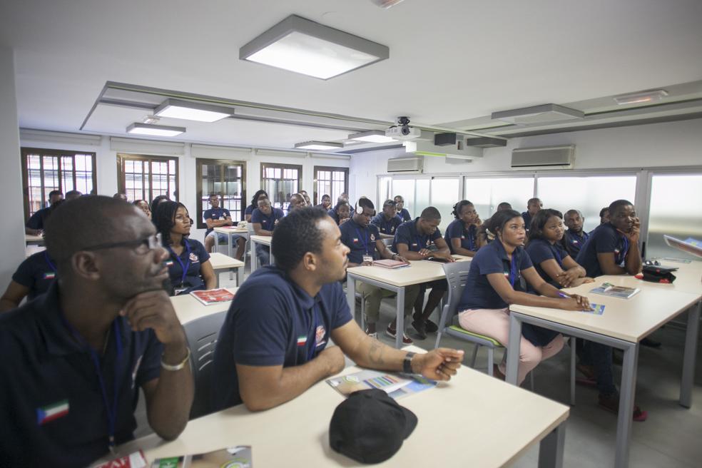 Nota de prensa. El proyecto de la compañía andaluza Construcciones Calderón, clave en la implantación de un nuevo modelo de Formación Profesional en Guinea Ecuatorial